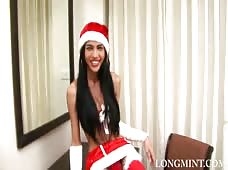 Ladyboy Mint Christmas in July