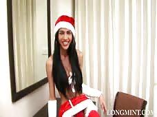 Ladyboy Mint Christmas in July