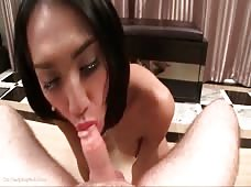 Aum Takes it Raw in Her Ladyboy Butt