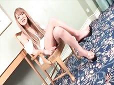 Konatsu Satsuki's Delectable Japanese Shemale Cock is Very Stiff
