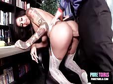 Gia Cruz Barebacking Transsexual Superstar