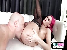 Jadyn Evergreen Tight Tgirl Ass Barebacked