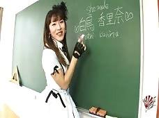 Karina Shiratori Schoolgirl